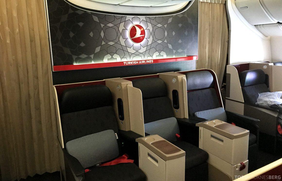 Turkish Airlines Business Class Istanbul Jakarta treseter