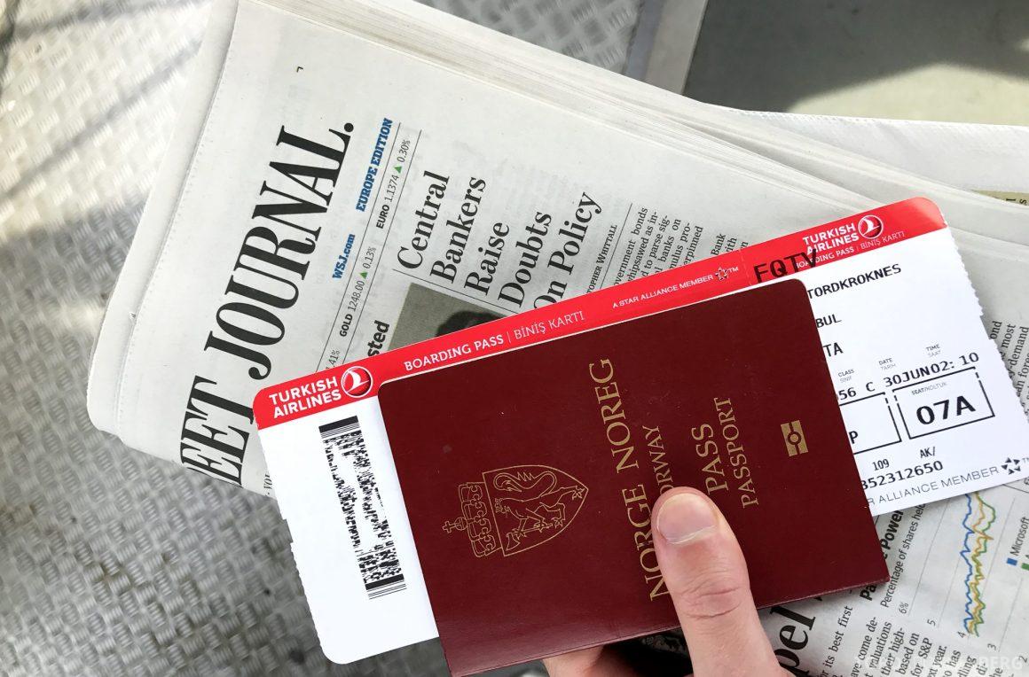 Turkish Airlines Business Class Oslo Istanbul pass avis
