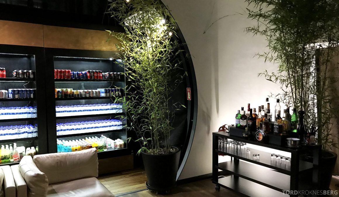 Turkish Airlines CIP Lounge Istanbul drikke