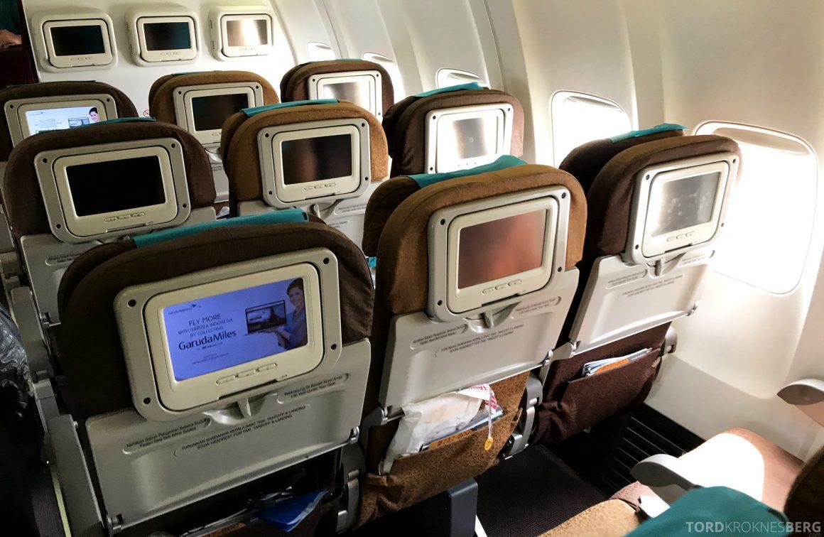 Garuda Indonesia Economy Bali Jakarta seter