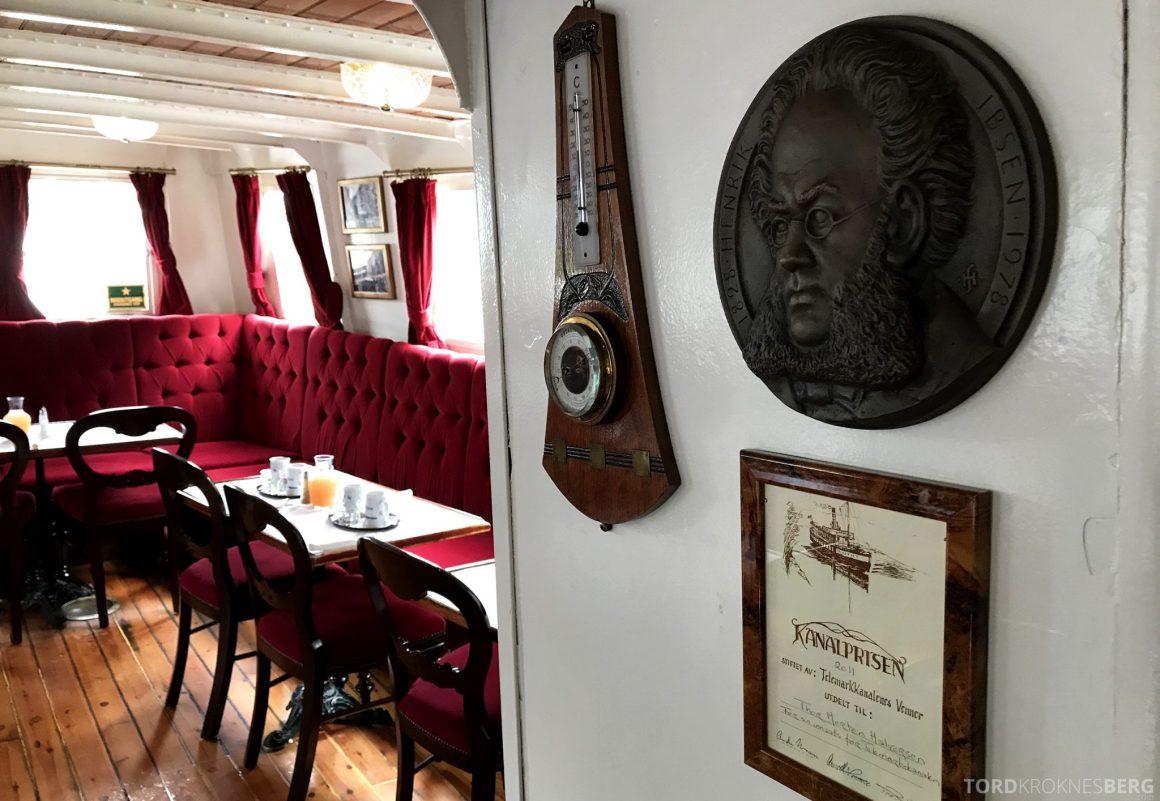 MS Henrik Ibsen Cruise Telemarkskanalen detaljer