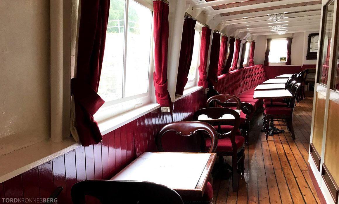 MS Henrik Ibsen Cruise Telemarkskanalen sitteplasser
