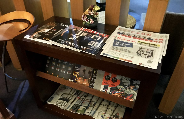 Premier Lounge Jakarta aviser og magasiner