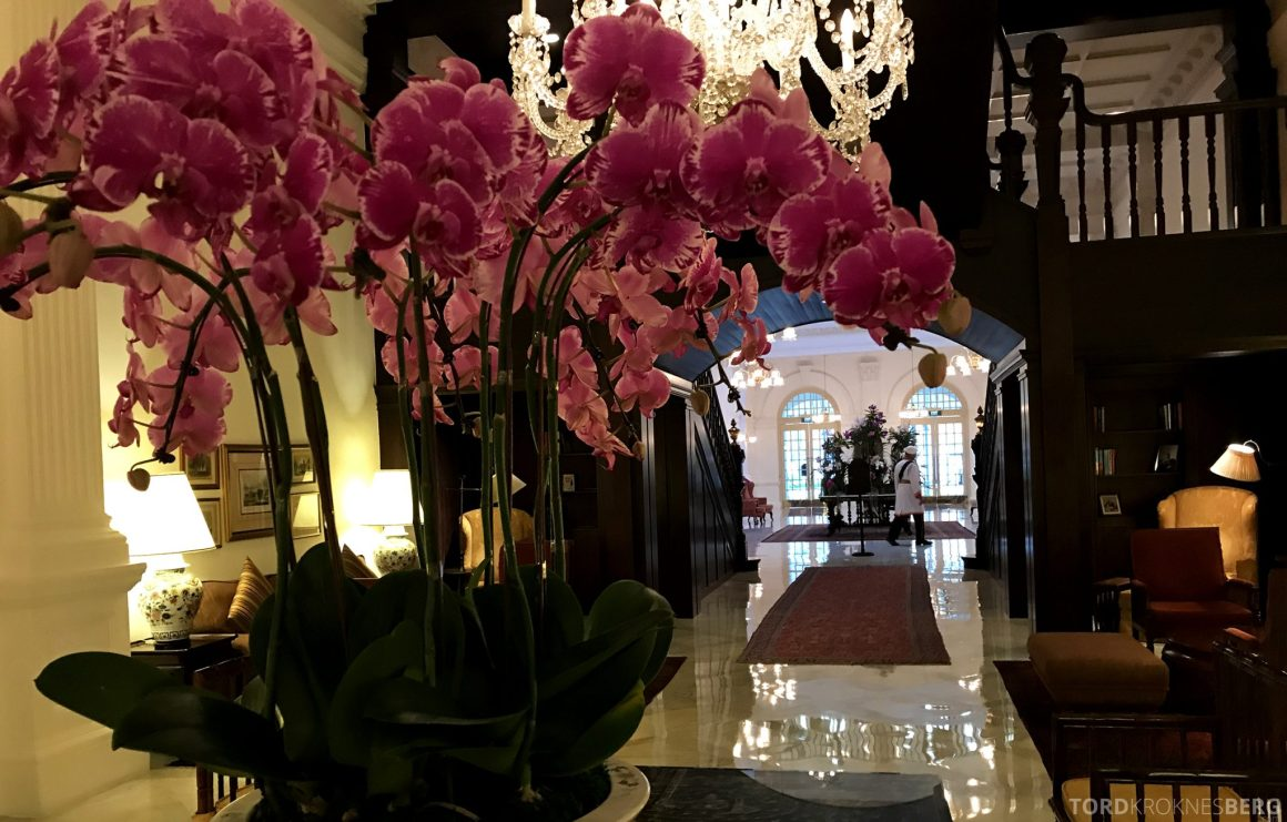 Raffles Hotel Singapore lobby
