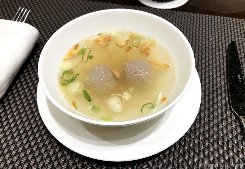 Restaurant Asia Ritz-Carlton Jakarta suppe