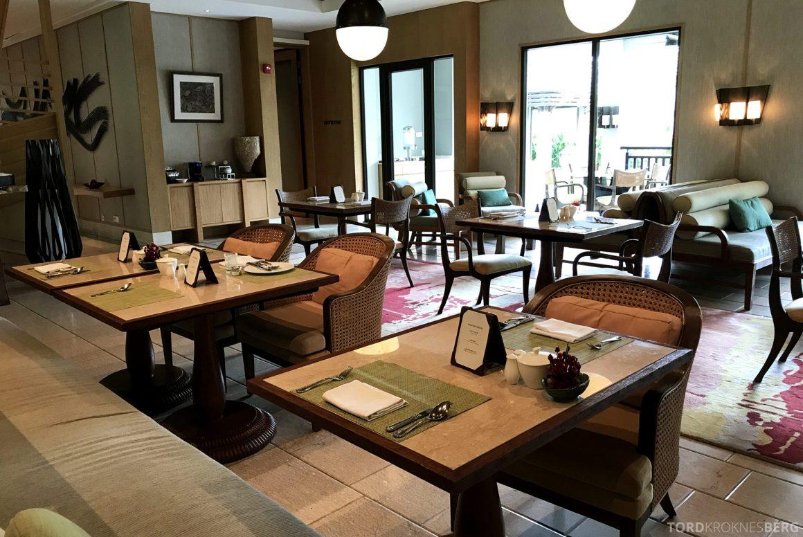 Ritz-Carlton Bali Club Lounge sitteplasser