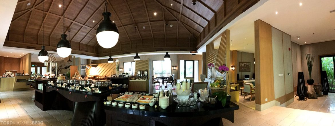 Ritz-Carlton Bali Club Lounge panorama