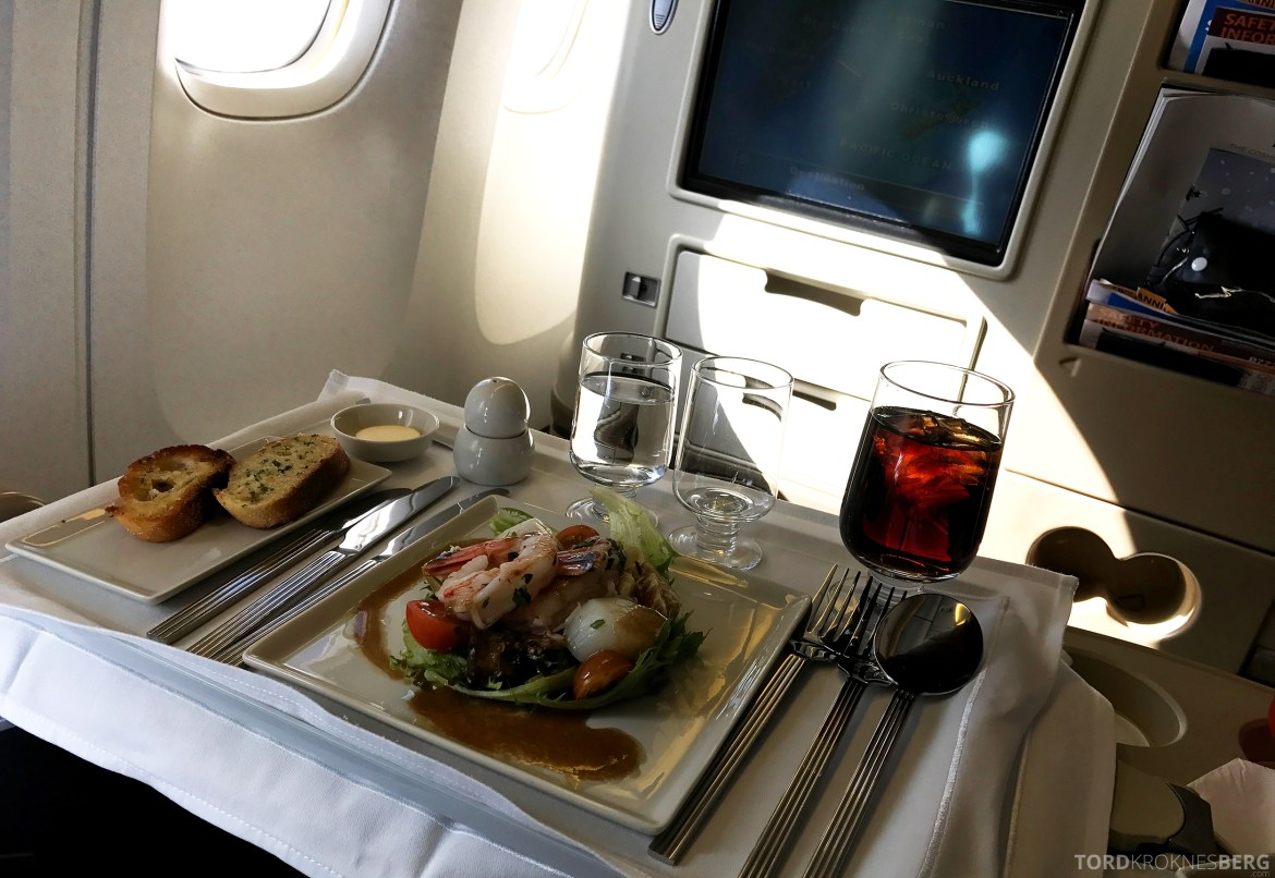 Singapore Airlines Business Class Canberra Wellington forrett