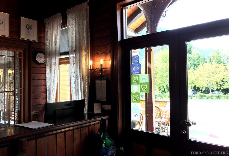 Dalen Hotel Telemark resepsjon