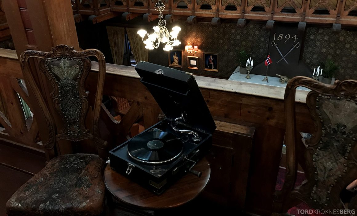 Dalen Hotel Telemark grammofon