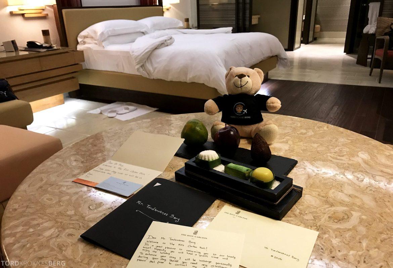Ritz-Carlton Bali reisefølget velkomst