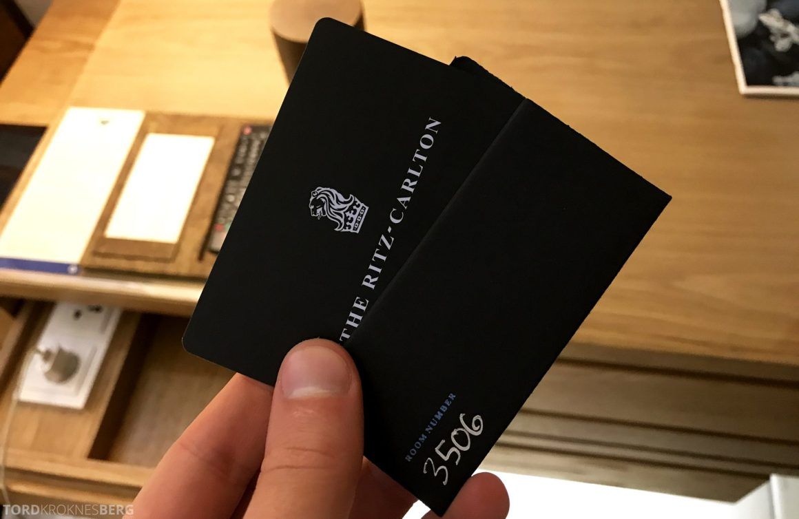 Ritz-Carlton Bali nøkkelkort