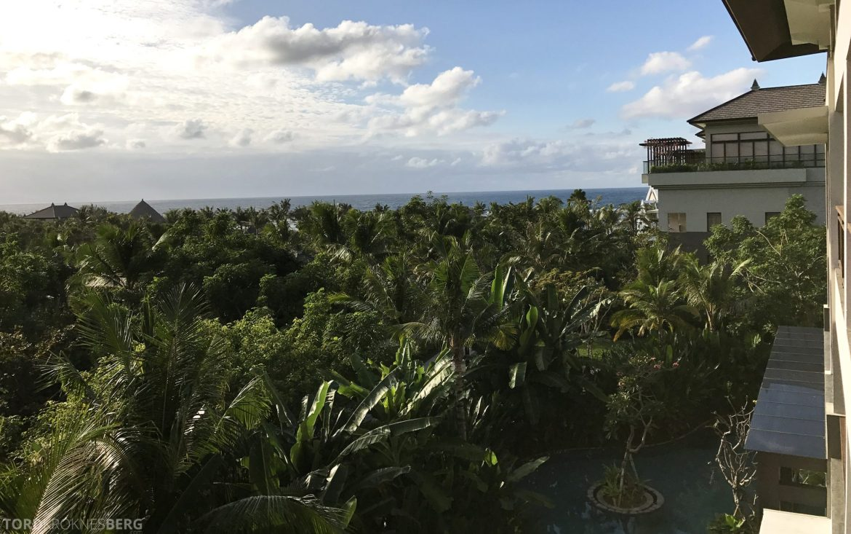 Ritz-Carlton Bali utsikt suite