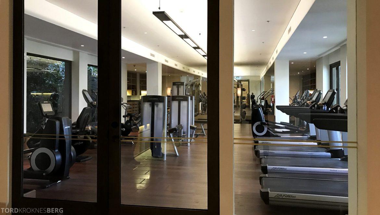 Ritz-Carlton Bali treningssenter