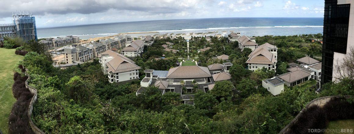 Ritz-Carlton Bali panorama utsikt