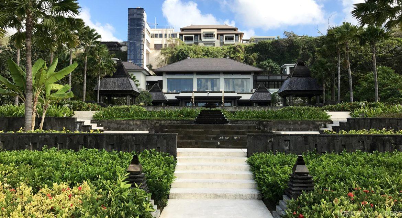 Ritz-Carlton Bali utsikt fra have