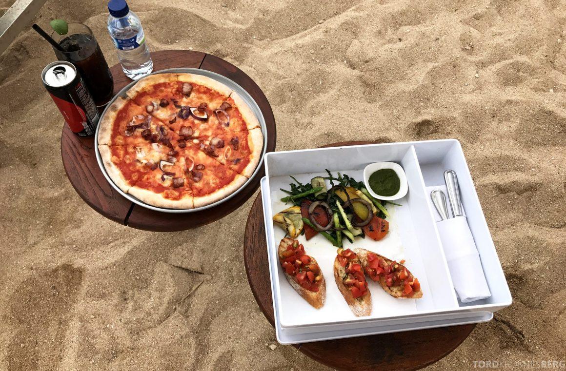 Ritz-Carlton Bali pizza
