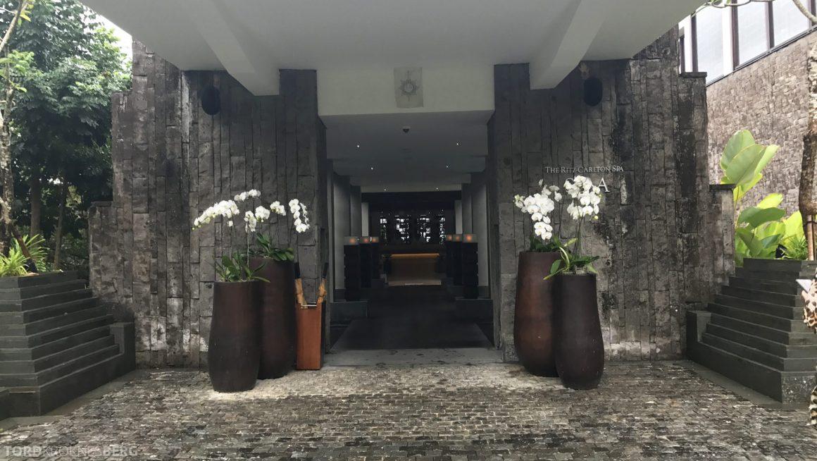 Ritz-Carlton Bali spa