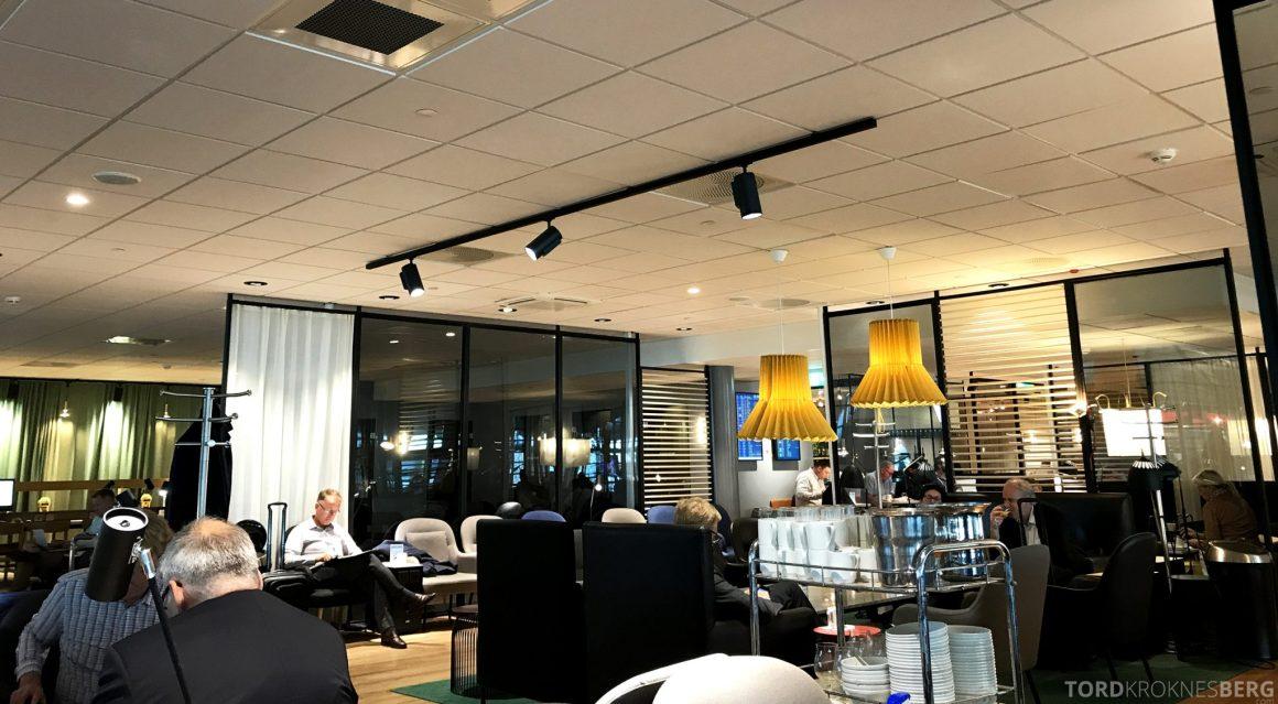 SAS Plus Oslo San Francisco lounge