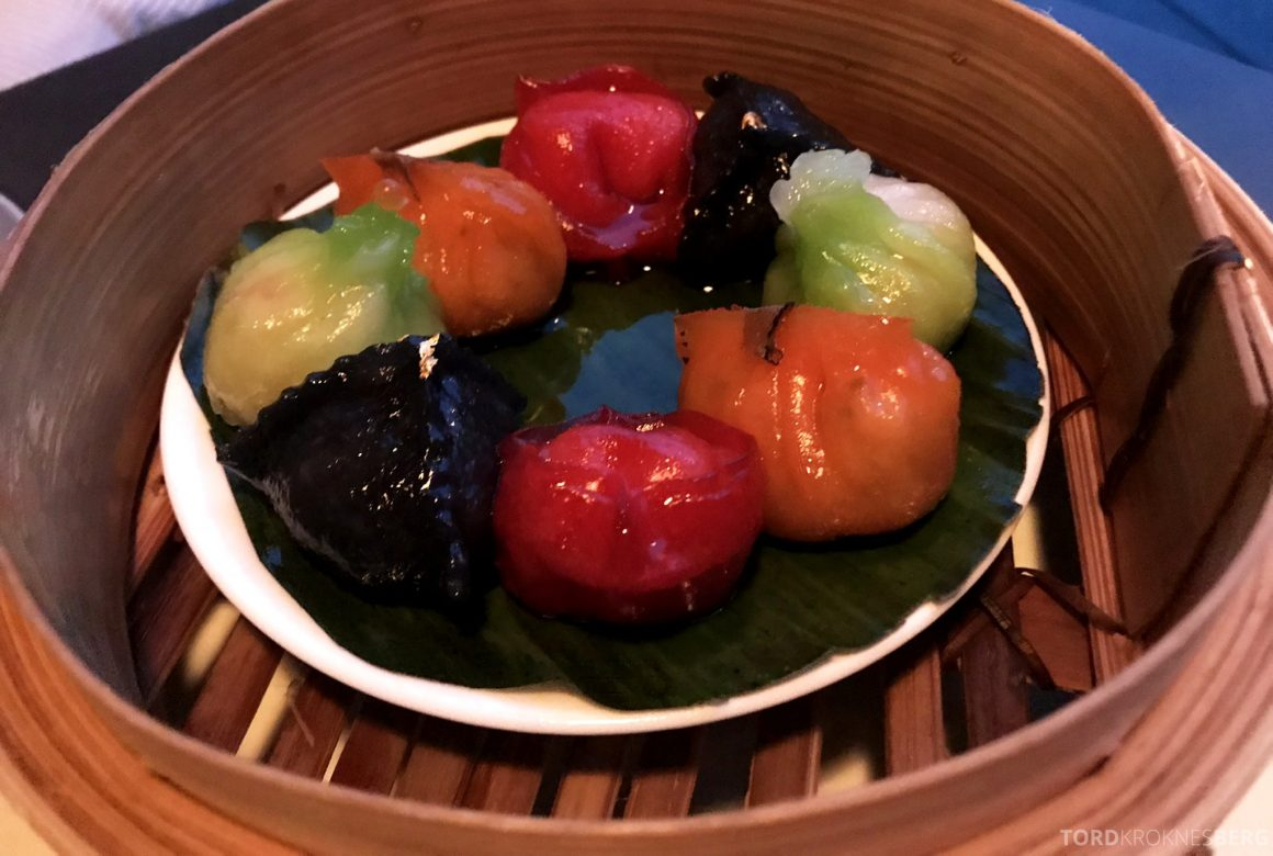 Ling Ling Hakkasan Oslo dumplings
