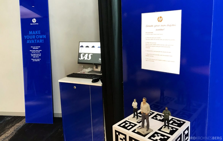 SAS Lounge Oslo Innland teknologi