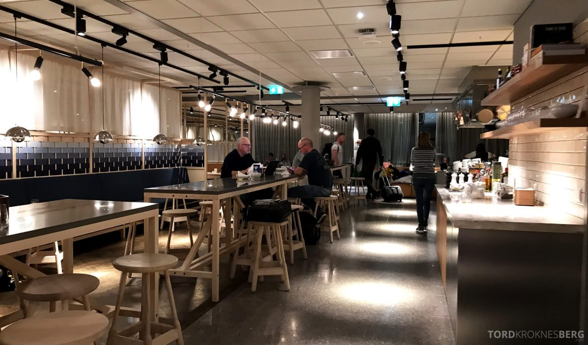 SAS Lounge Oslo Innland plass