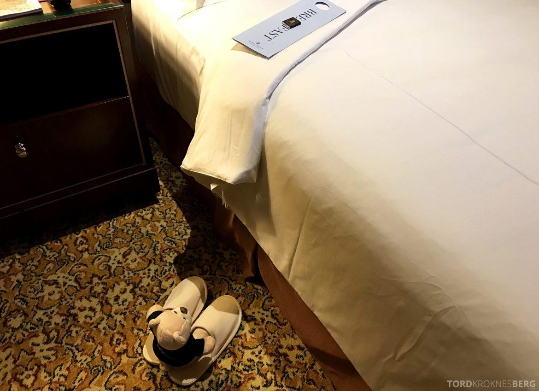 Ritz-Carlton Jakarta reisefølget turndown