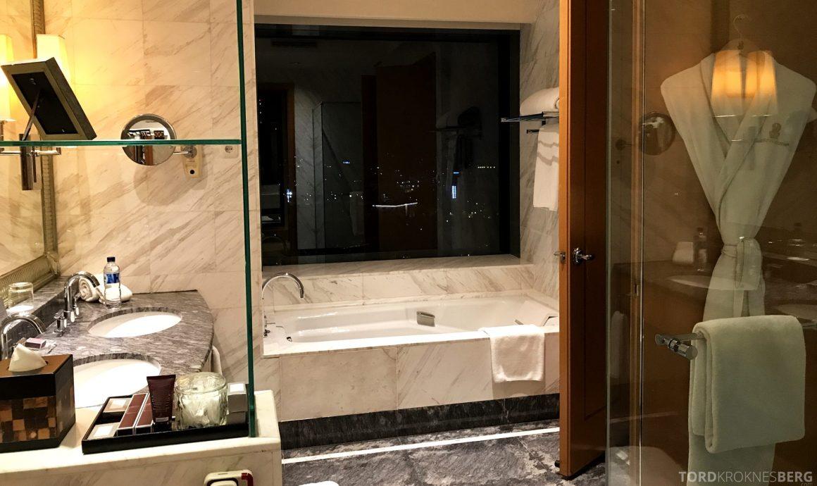 Ritz-Carlton Jakarta badekar