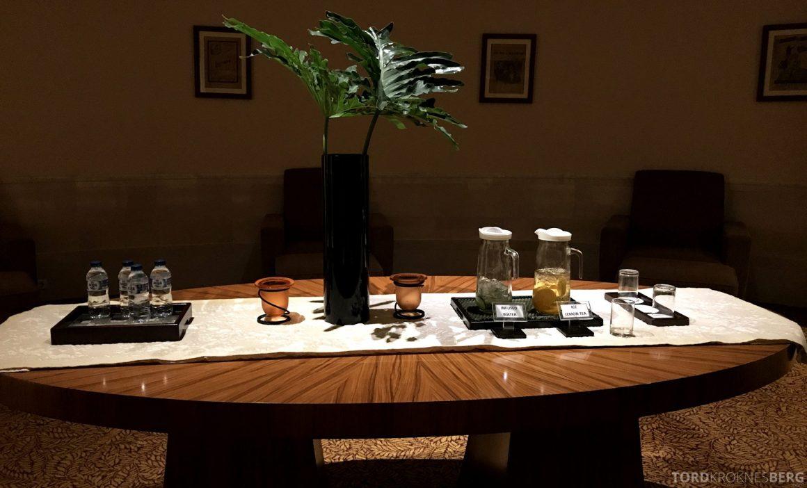 Ritz-Carlton Jakarta hvilerom