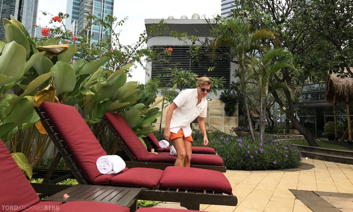 Ritz-Carlton Jakarta Tord Kroknes Berg basseng