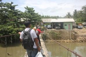 Jembatan Gantung Sawarna