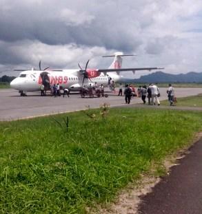 Pesawat WingsAir Medan - Tapteng
