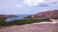 Pemandangan Diatas Bukit Pulau Rinca