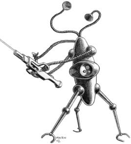 Spaceship Zero Alien Robot
