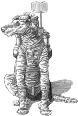 Spaceship Zero Super-Intelligent Dog