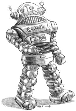 Spaceship Zero Robot