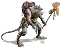 Post-Apocalyptic Rat-Man