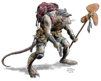 Post-Apocalyptic Rat-Man