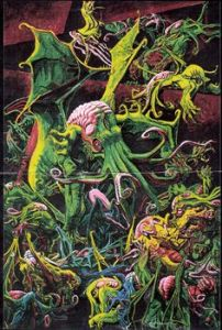 Cthulhu and his greasy spawn
