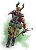 Post-apocalyptic mutant
