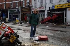 28 Weeks Later (2007) stars Imogen Poots, Robert Carlyle, Jeremy Renner, Rose Byrne. Dir: Juan Carlos Fresnadillo