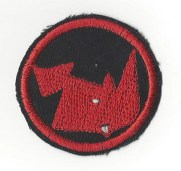 Rhinosferatu iron-on patch by Ryan Smith
