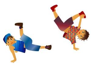 ブレイクダンスの技