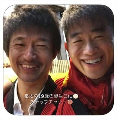 三浦知良と長男・三浦良太