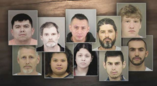 North Carolina Drug Trafficking Investigation: Heroin, Meth, & Cocaine Tied To Mexican Cartel- 18 Arrested, Several In The Country Illegally