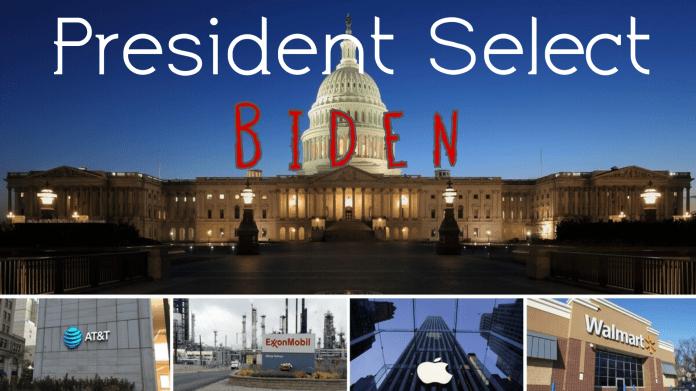 President Select BIden