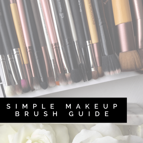 Simple Makeup Brush Guide