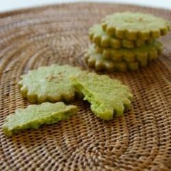 ほろっとやさしい抹茶クッキー:楽天レシピのすすめ