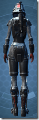 Imperial Trooper - Female Back