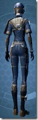 Republic Officer - Female Back